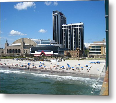 Atlantic City - 01135 Metal Print by DC Photographer