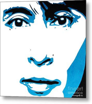Aung San Suu Kyi. Metal Print