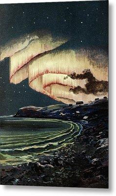 Aurora Borealis Metal Print by Babak Tafreshi