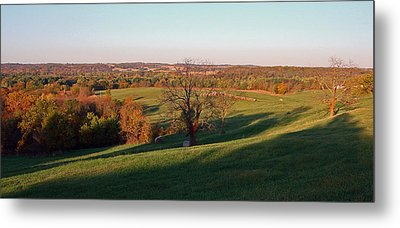 Autumn Countryside Metal Print by Ellen Tully