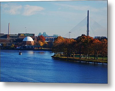 Autumn In Boston Metal Print by Toby McGuire