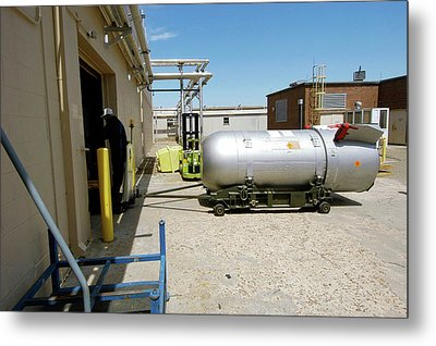B53 Nuclear Bomb Disposal Metal Print by National Nuclear Security Administration