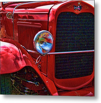 Metal Print featuring the photograph Bad Dog by Ron Roberts