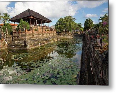 Bali, Indonesia The Bale Kambang Metal Print