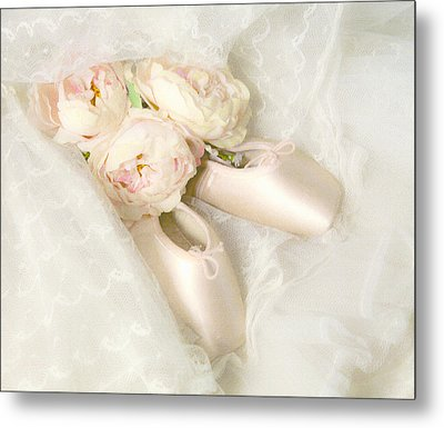 Ballet Shoes Metal Print by Theresa Tahara