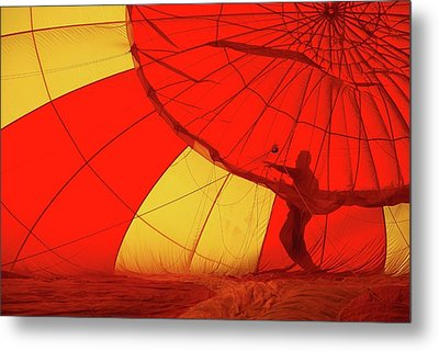 Metal Print featuring the photograph Balloon Fantasy 2 by Allen Beatty