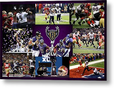 Baltimore Ravens Metal Print
