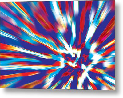 Bang Metal Print by David Davies