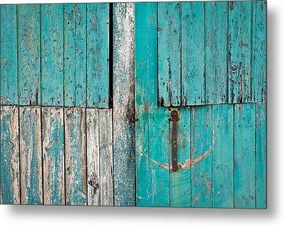 Barn Door Metal Print by Tom Gowanlock