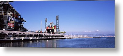 Baseball Park At The Waterfront, At&t Metal Print by Panoramic Images