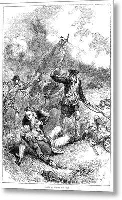 Battle Of Bunker Hill, 1775 Metal Print by Granger