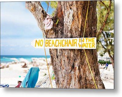 Beach At Rum Point Metal Print by Jo Ann Snover
