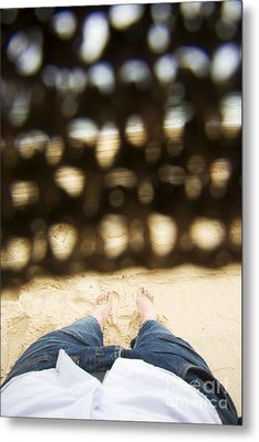 Beach Sleeper Metal Print by Jorgo Photography - Wall Art Gallery