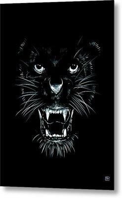 Beast Metal Print by Giuseppe Cristiano