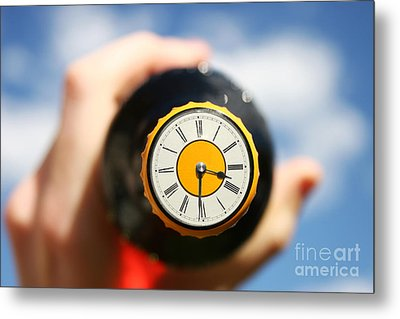 Beer Oclock Metal Print by Jorgo Photography - Wall Art Gallery