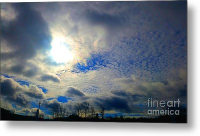Before Rain Metal Print