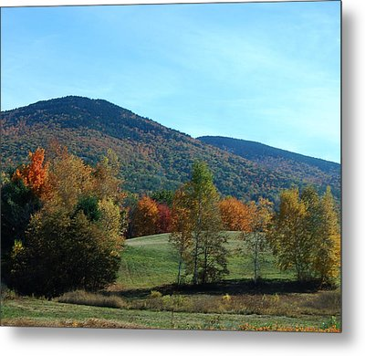 Metal Print featuring the photograph Belknap Mountain by Mim White