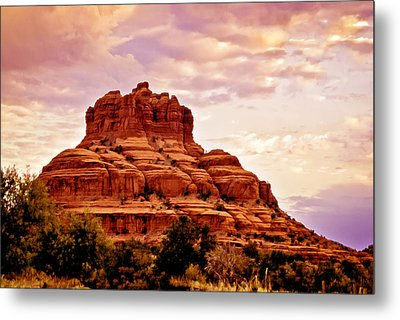 Bell Rock Vortex Painting Metal Print