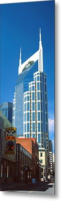 Bellsouth Building In Nashville Metal Print by Panoramic Images