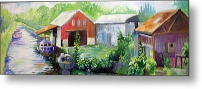 Belmont  Co Offaly Metal Print