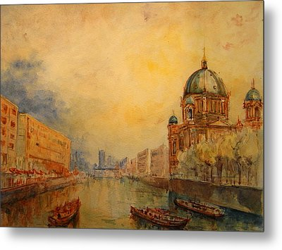 Berlin Metal Print by Juan  Bosco