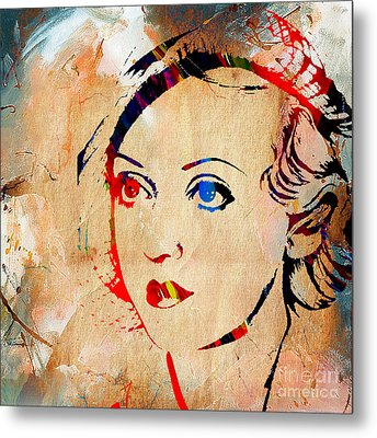 Bette Davis Collection Metal Print by Marvin Blaine