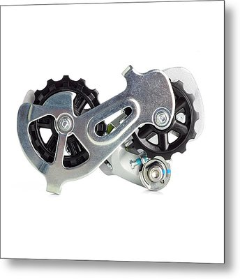Bicycle Derailleur Metal Print