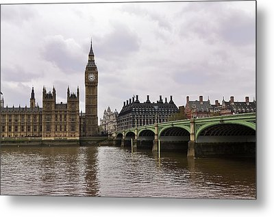 Big Ben Metal Print by Andres LaBrada