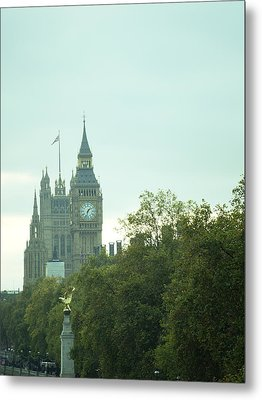 Metal Print featuring the photograph Big Ben by Rachel Mirror