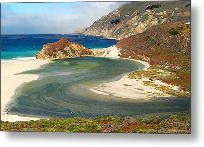 Big Sur Metal Print by Mamie Gunning