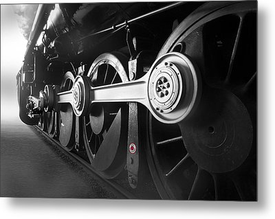 Big Wheels Metal Print