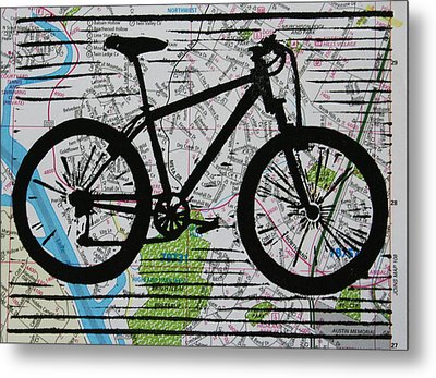 Bike 10 Metal Print by William Cauthern