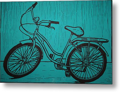 Bike 5 Metal Print by William Cauthern