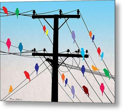 Birds  Metal Print by Mark Ashkenazi