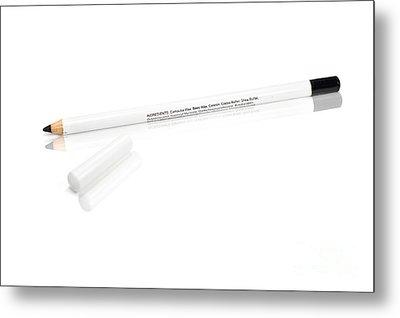 Black Eye Makeup Pencil Metal Print by Jorgo Photography - Wall Art Gallery