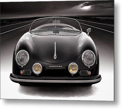 Black Speedster Metal Print by Douglas Pittman