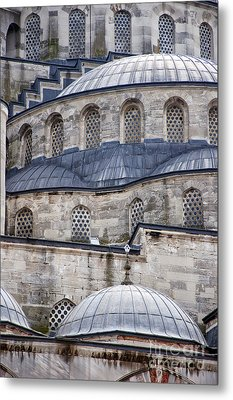 Blue Mosque 01 Metal Print by Antony McAulay