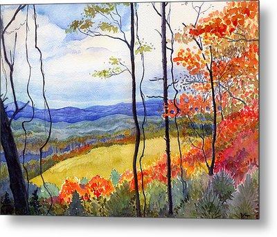 Blue Ridge Mountains Of West Virginia Metal Print