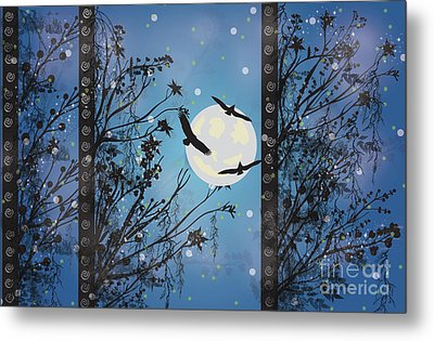 Blue Winter Metal Print by Kim Prowse