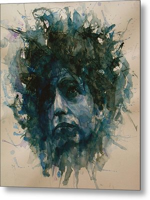 Bob Dylan Metal Print by Paul Lovering