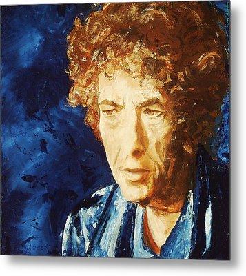 Bob Dylan Metal Print by Willem Arendsz