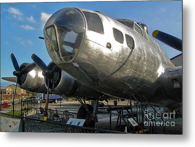 Boeing Flying Fortress B-17g  -  04 Metal Print by Gregory Dyer