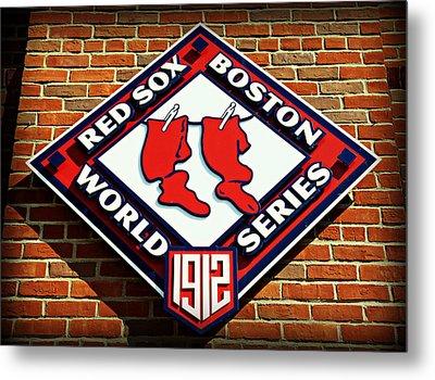 Boston Red Sox 1912 World Champions Metal Print