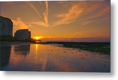 Botany Bay Sunset Metal Print