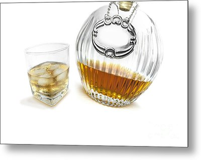 Bourbon Whisky Canter Metal Print by Jorgo Photography - Wall Art Gallery