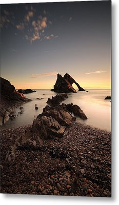 Bow Fiddle Rock Metal Print by Grant Glendinning