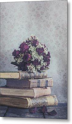 Bridal Bouquet Metal Print