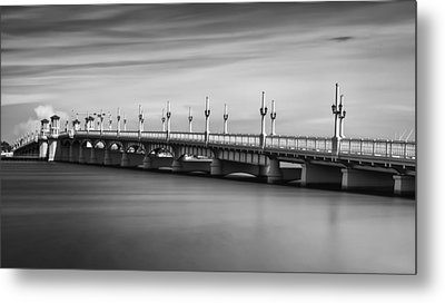 Bridge Of Lions Metal Print by David Mcchesney