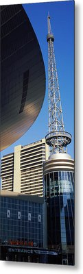 Bridgestone Arena Tower At Nashville Metal Print by Panoramic Images