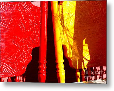 Bright Shadows Metal Print by Cathy Dee Janes